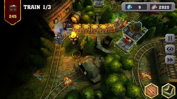 Train Defense trên Steam