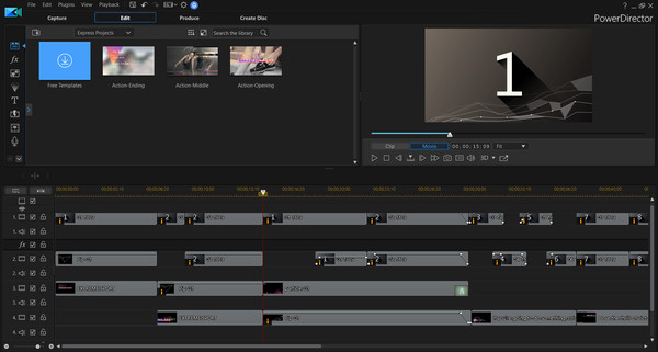 PowerDirector 17 Ultimate - Video editing, Video editor, making videos