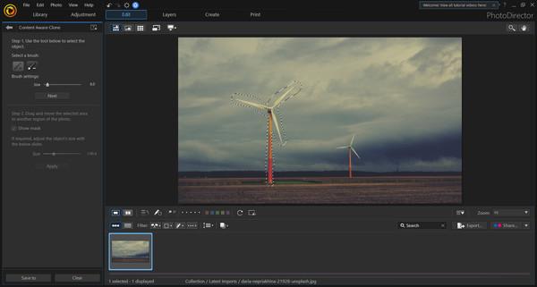 Скриншот из CyberLink PhotoDirector 10 Ultra