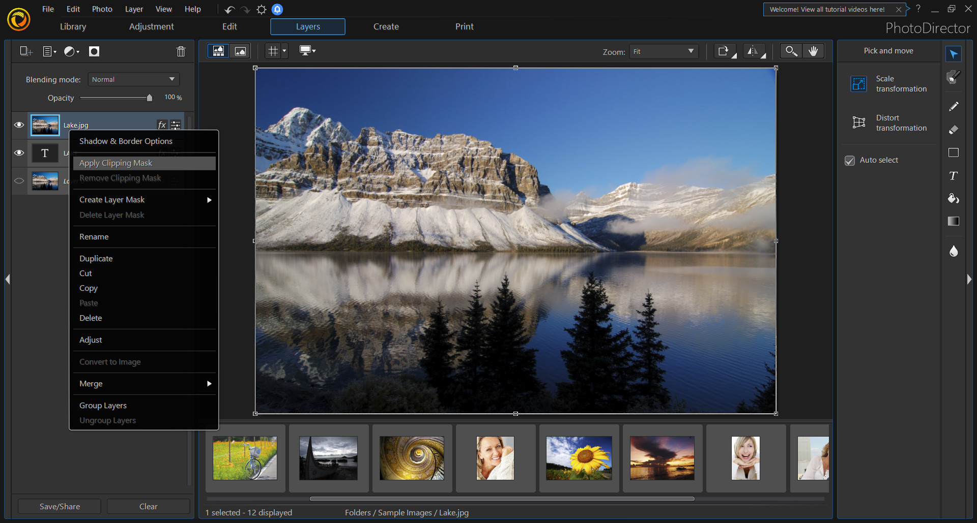PhotoDirector 10 Ultra - Photo editor, photo editing software