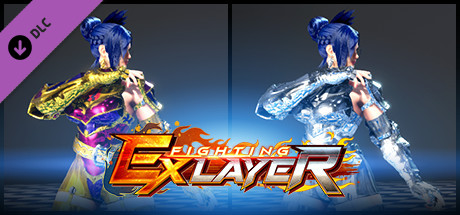 FIGHTING EX LAYER - Color Gold/Silver: Blair