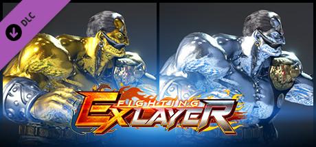 FIGHTING EX LAYER - Color Gold/Silver: Darun