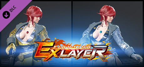 FIGHTING EX LAYER - Color Gold/Silver: Sharon