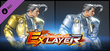FIGHTING EX LAYER - Color Gold/Silver: Rosso