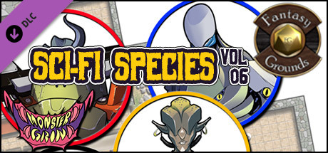 Fantasy Grounds - Sci-fi Species, Volume 6 (Token Pack)