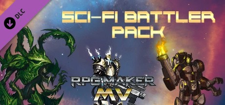 RPG Maker MV - Sci-Fi Battler Pack