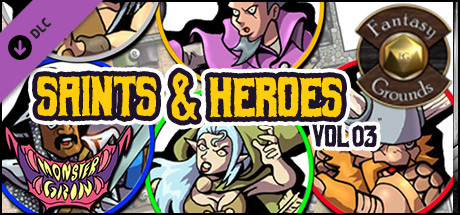 Fantasy Grounds - Saints & Heroes, Volume 3 (Token Pack)