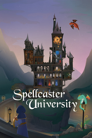 Spellcaster University poster image on Steam Backlog