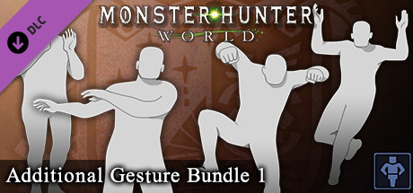 Monster Hunter: World - Additional Gesture Bundle 1