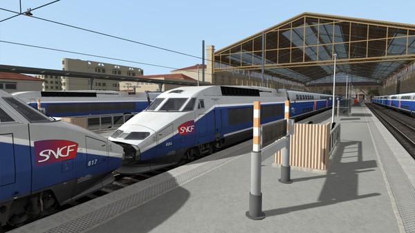 скриншот Train Simulator: TGV Réseau & TGV-RDuplex EMU Add-On 0