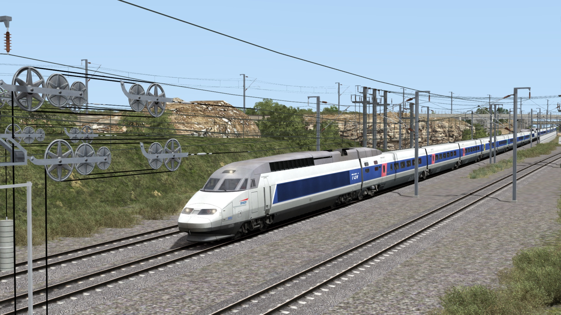 Train Simulator: TGV® Réseau & TGV-RDuplex EMU Add-On