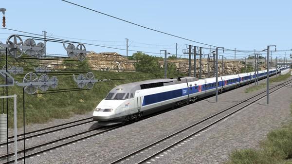 скриншот Train Simulator: TGV Réseau & TGV-RDuplex EMU Add-On 1