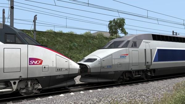 скриншот Train Simulator: TGV Réseau & TGV-RDuplex EMU Add-On 5