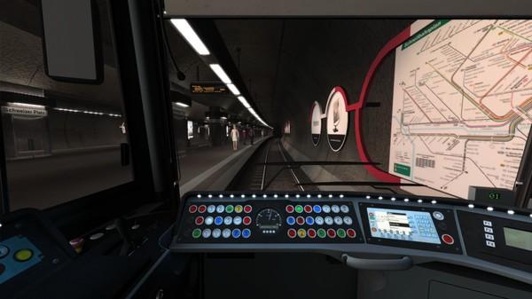 скриншот Train Simulator: Frankfurt U-Bahn Route Add-On 4