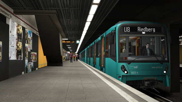 скриншот Train Simulator: Frankfurt U-Bahn Route Add-On 2
