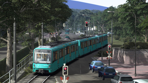 скриншот Train Simulator: Frankfurt U-Bahn Route Add-On 0