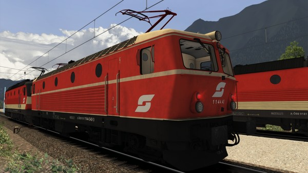 скриншот TS Marketplace: ÖBB 1144 Livery Pack Add-On 1