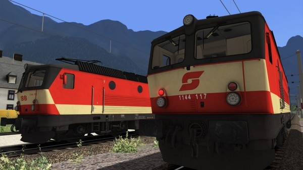 скриншот TS Marketplace: ÖBB 1144 Livery Pack Add-On 2
