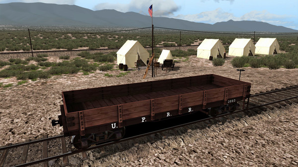 скриншот TS Marketplace: 1800s Rolling Stock Pack 01 Add-On 4