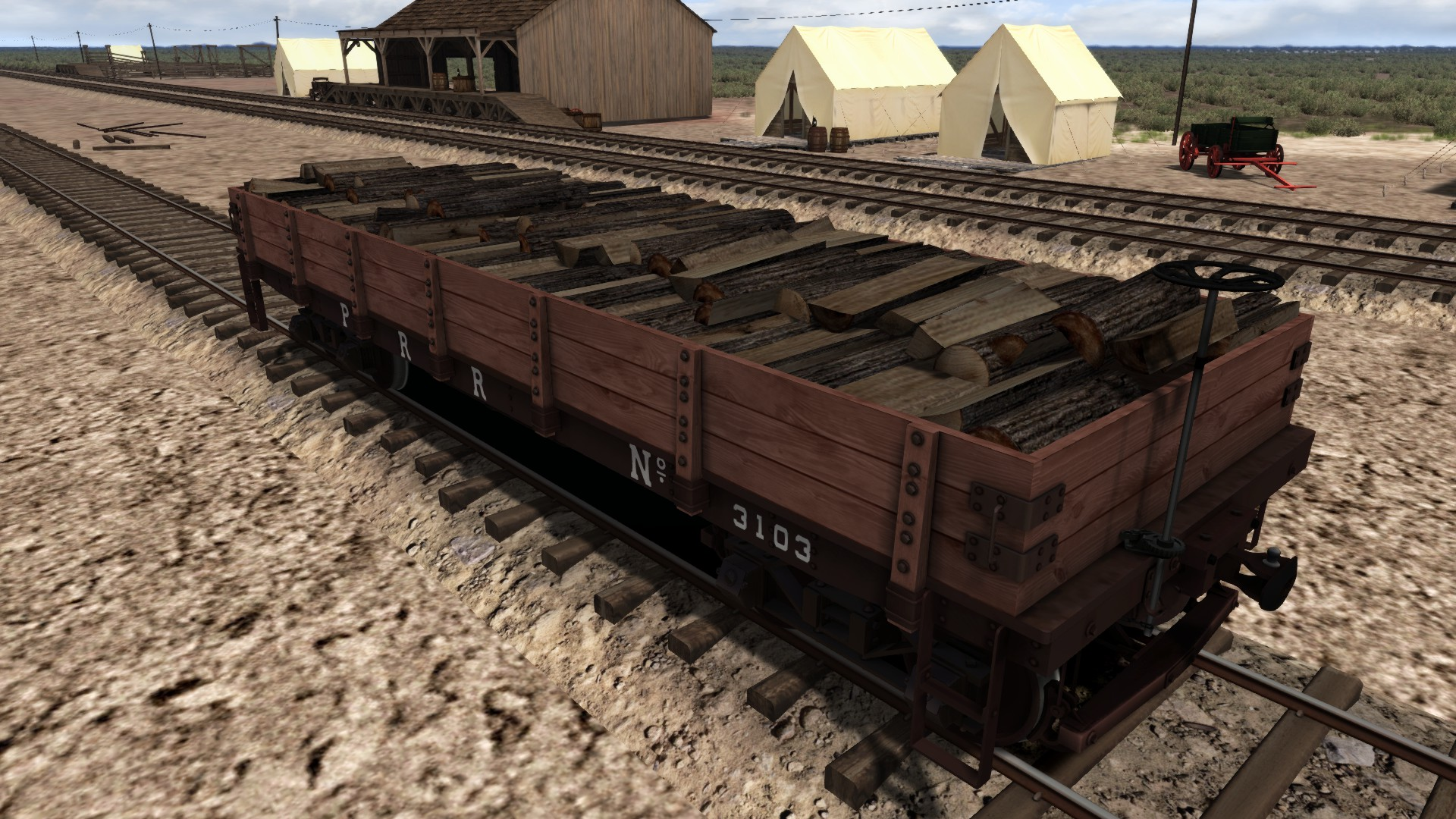TS Marketplace: 1800s Rolling Stock Pack 01 Add-On