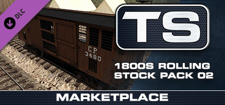 TS Marketplace: 1800s Rolling Stock Pack 02 Add-On