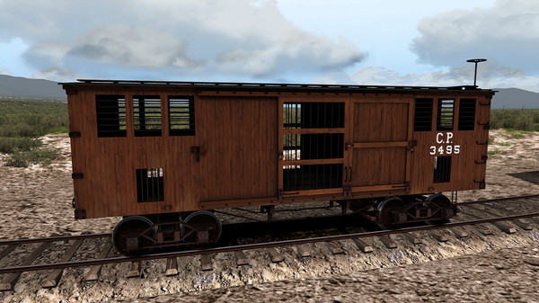 скриншот TS Marketplace: 1800s Rolling Stock Pack 02 Add-On 2