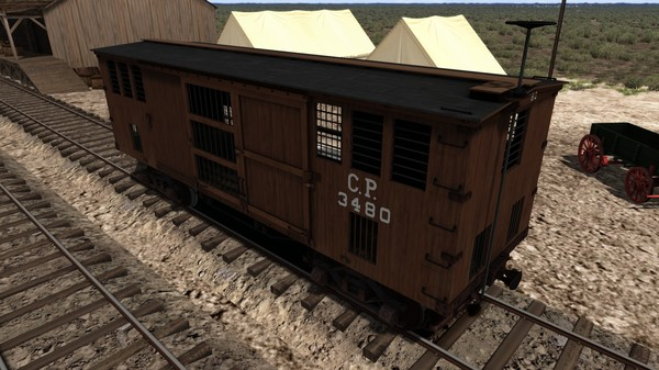 скриншот TS Marketplace: 1800s Rolling Stock Pack 02 Add-On 5