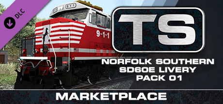 TS Marketplace: Norfolk Southern SD60E Livery Pack 01