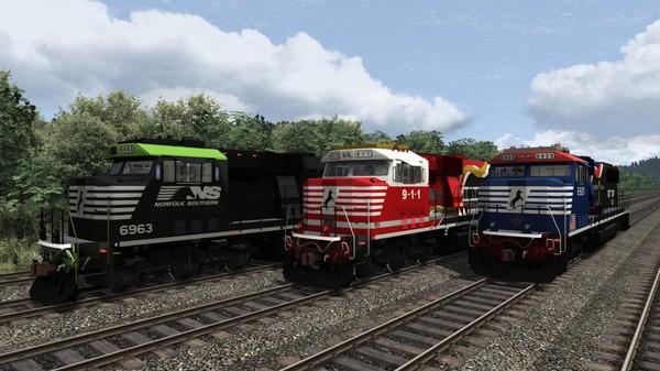скриншот TS Marketplace: Norfolk Southern SD60E Livery Pack 01 0