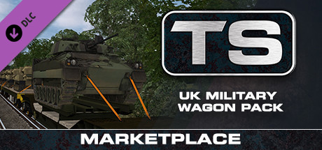 Train Simulator: UK Military Wagon Pack Add-On