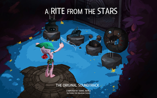 A Rite from the Stars Makoan Legend Edition DLC - Artbook, Official Guide, and Soundtrack