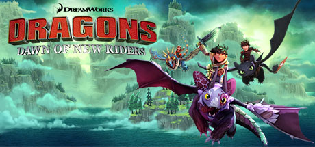 DreamWorks Dragons Dawn of New Riders Capa