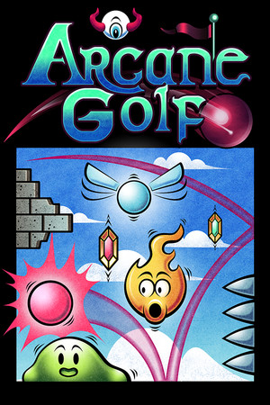 Arcane Golf poster image on Steam Backlog