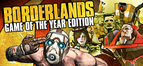 Borderlands GOTY cover art