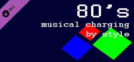 80's musical charging by style cover art
