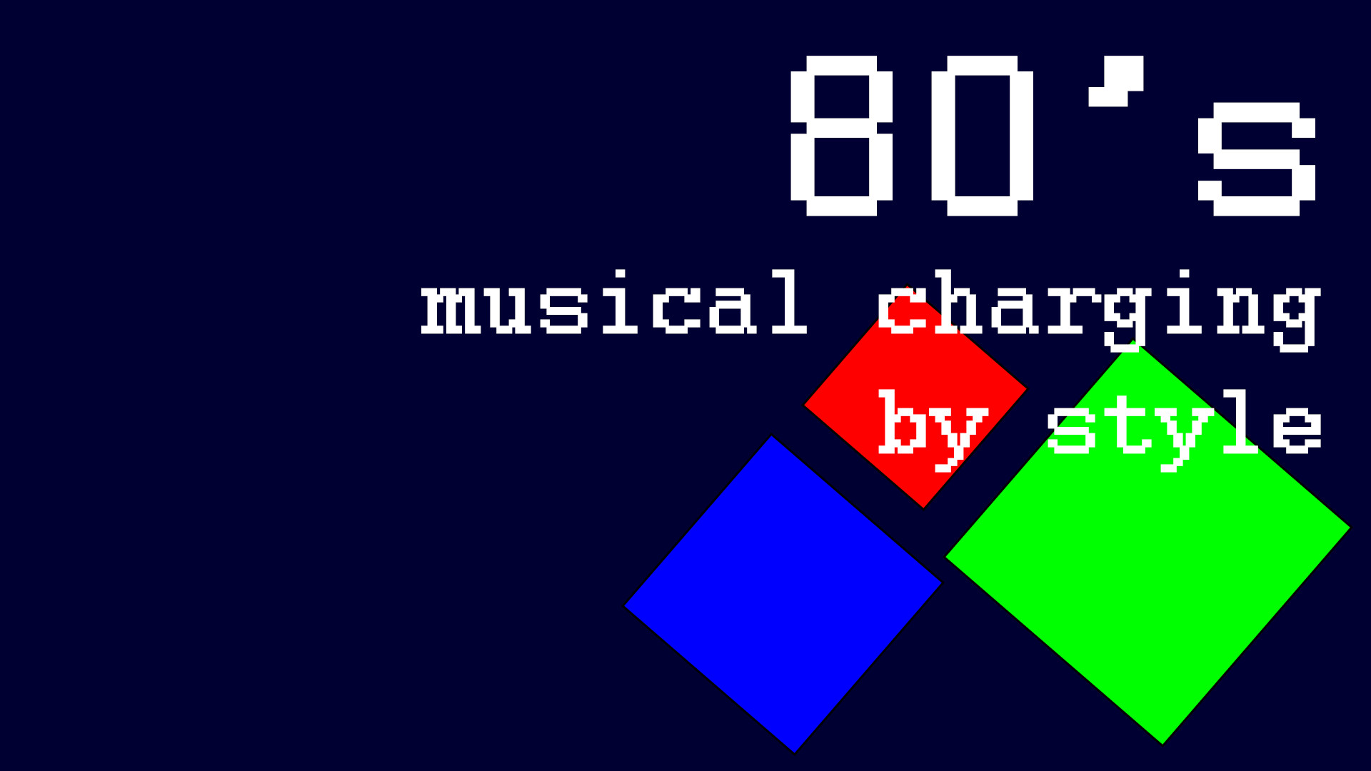 80s Musical Charging By Style On Steam