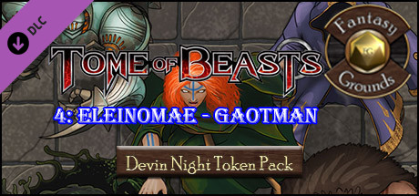 Fantasy Grounds - Devin Night: Tome of Beasts Pack 4 – Eleinomae–Goatman (Token Pack)