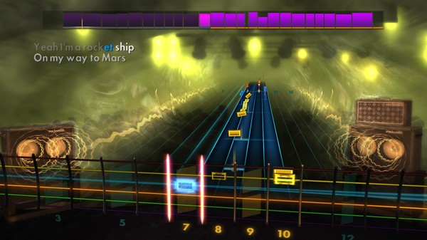 Скриншот №1 к Rocksmith® 2014 Edition – Remastered – Queen Song Pack II