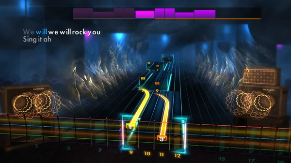 "Скриншот №5 к Rocksmith® 2014 Edition – Remastered – Queen - ""We Will Rock You"""