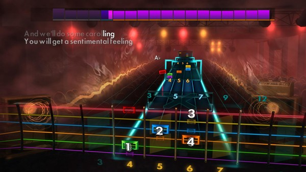 "Скриншот №3 к Rocksmith® 2014 Edition – Remastered – Brenda Lee - ""Rockin' Around the Christmas Tree"""
