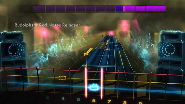 "Скриншот №1 к Rocksmith® 2014 Edition – Remastered – Gene Autry - ""Rudolph the Red-Nosed Reindeer"""