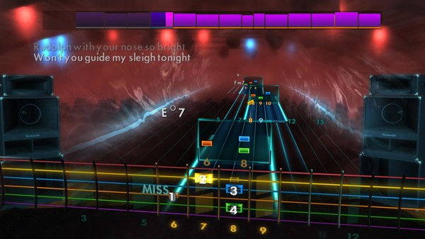 "Скриншот №3 к Rocksmith® 2014 Edition – Remastered – Gene Autry - ""Rudolph the Red-Nosed Reindeer"""