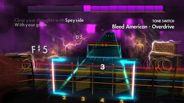 "Скриншот №1 к Rocksmith® 2014 Edition – Remastered – Jimmy Eat World - ""Bleed American"""