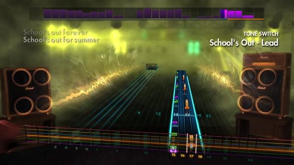 "Скриншот №5 к Rocksmith® 2014 Edition – Remastered – Alice Cooper - ""School's Out"""