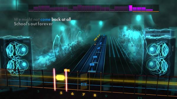 "Скриншот №3 к Rocksmith® 2014 Edition – Remastered – Alice Cooper - ""School's Out"""