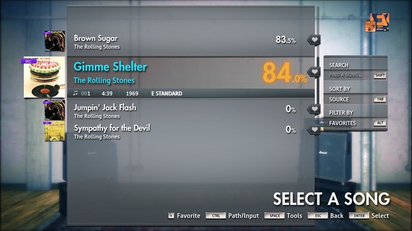 """Скриншот №3 к Rocksmith® 2014 Edition – Remastered – The Rolling Stones - """"Gimme Shelter"""""""