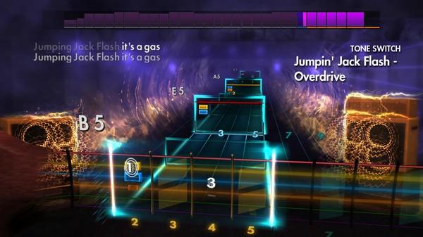 "Скриншот №4 к Rocksmith® 2014 Edition – Remastered – The Rolling Stones - ""Jumpin Jack Flash"""