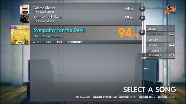 "Скриншот №2 к Rocksmith® 2014 Edition – Remastered – The Rolling Stones - ""Sympathy for the Devil"""