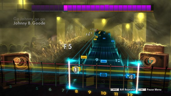 "Скриншот №4 к Rocksmith® 2014 Edition – Remastered – Chuck Berry - ""Johnny B. Goode"""