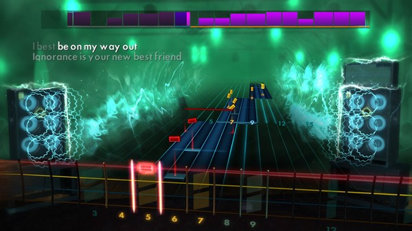 """Скриншот №5 к Rocksmith® 2014 Edition – Remastered – Paramore - """"Ignorance"""""""